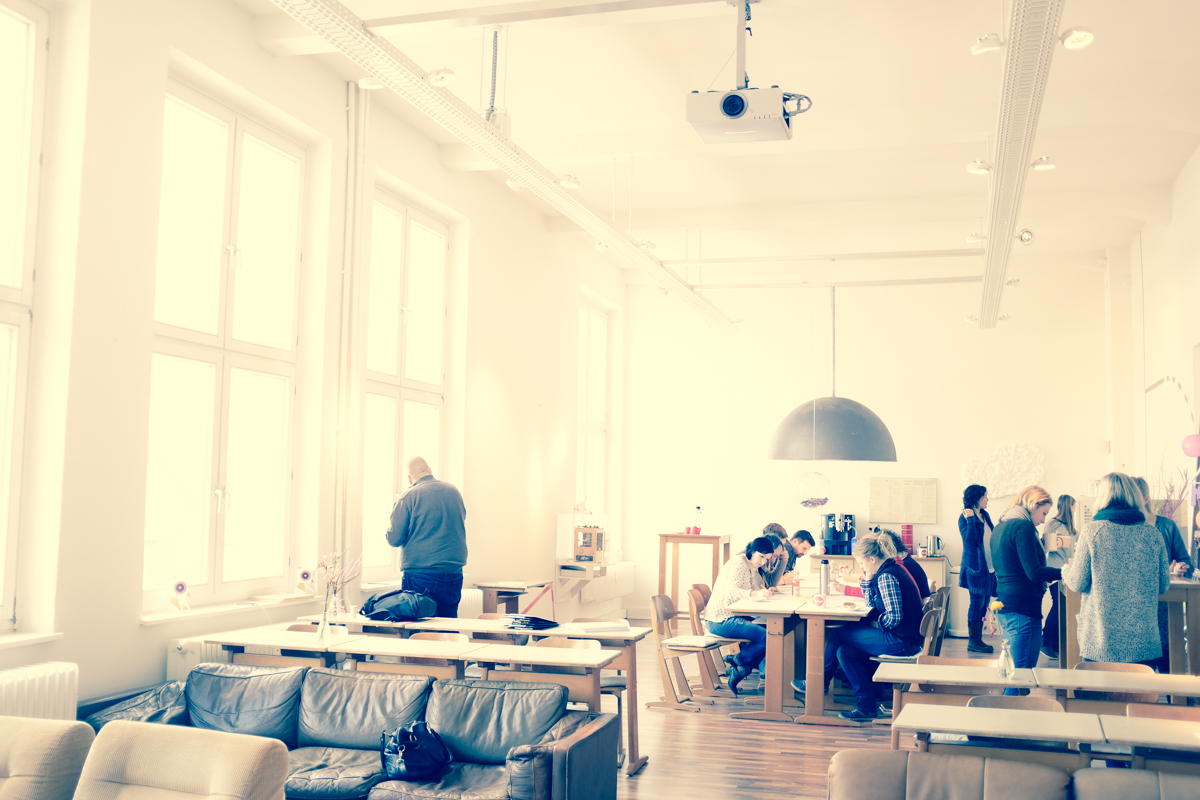 Schöner Raum, viel Licht: Good School in Hamburg (c) Valentin Heyde