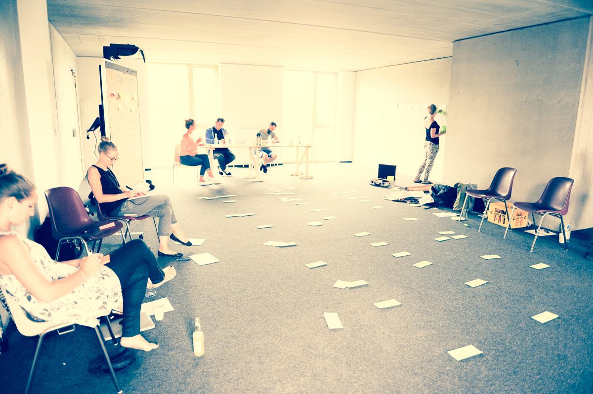 Räume anders nutzen und gestalten für Workshops