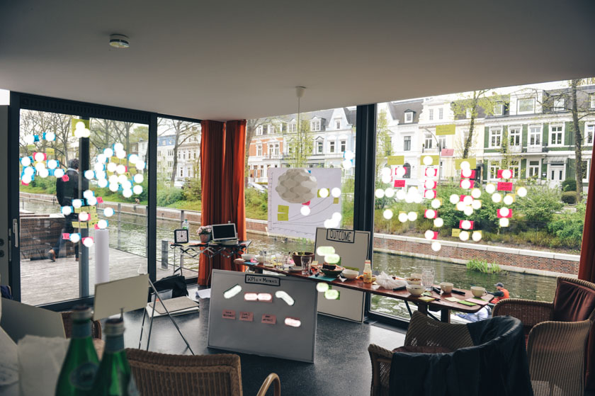 Offsite-Workshop mitten in Hamburg