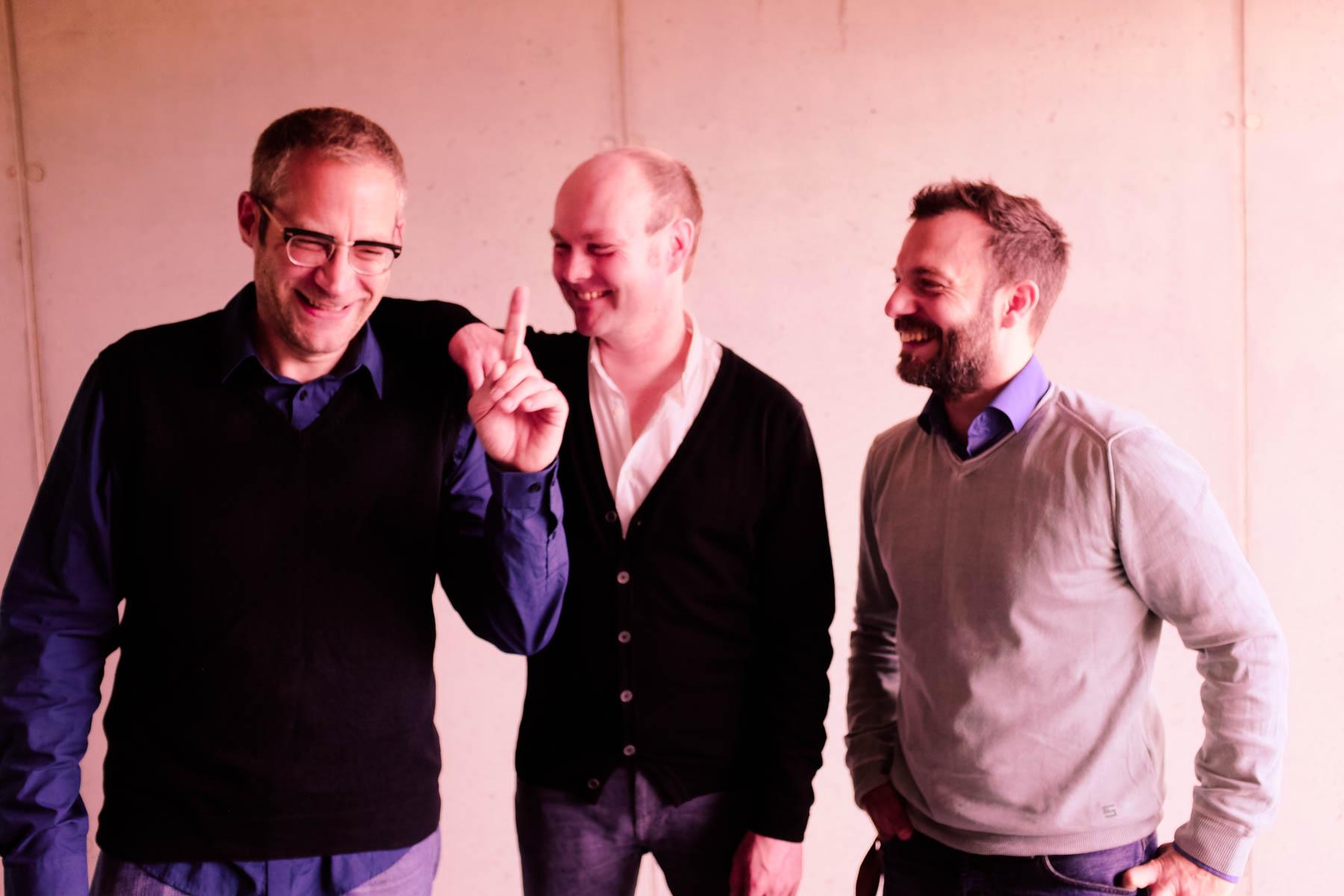 Dirk Bathen, Jörg Jelden und Valentin Heyde