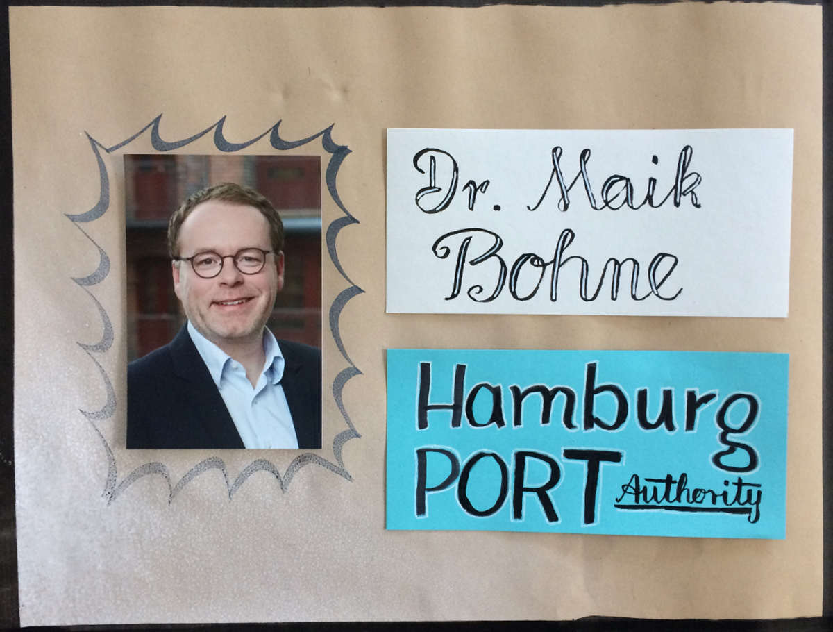 Dr. Maik Bohne, Hamburg Port Authority Dr. Maik Bohne, Hamburg Port Authority Beteiligungsprozesse moderieren