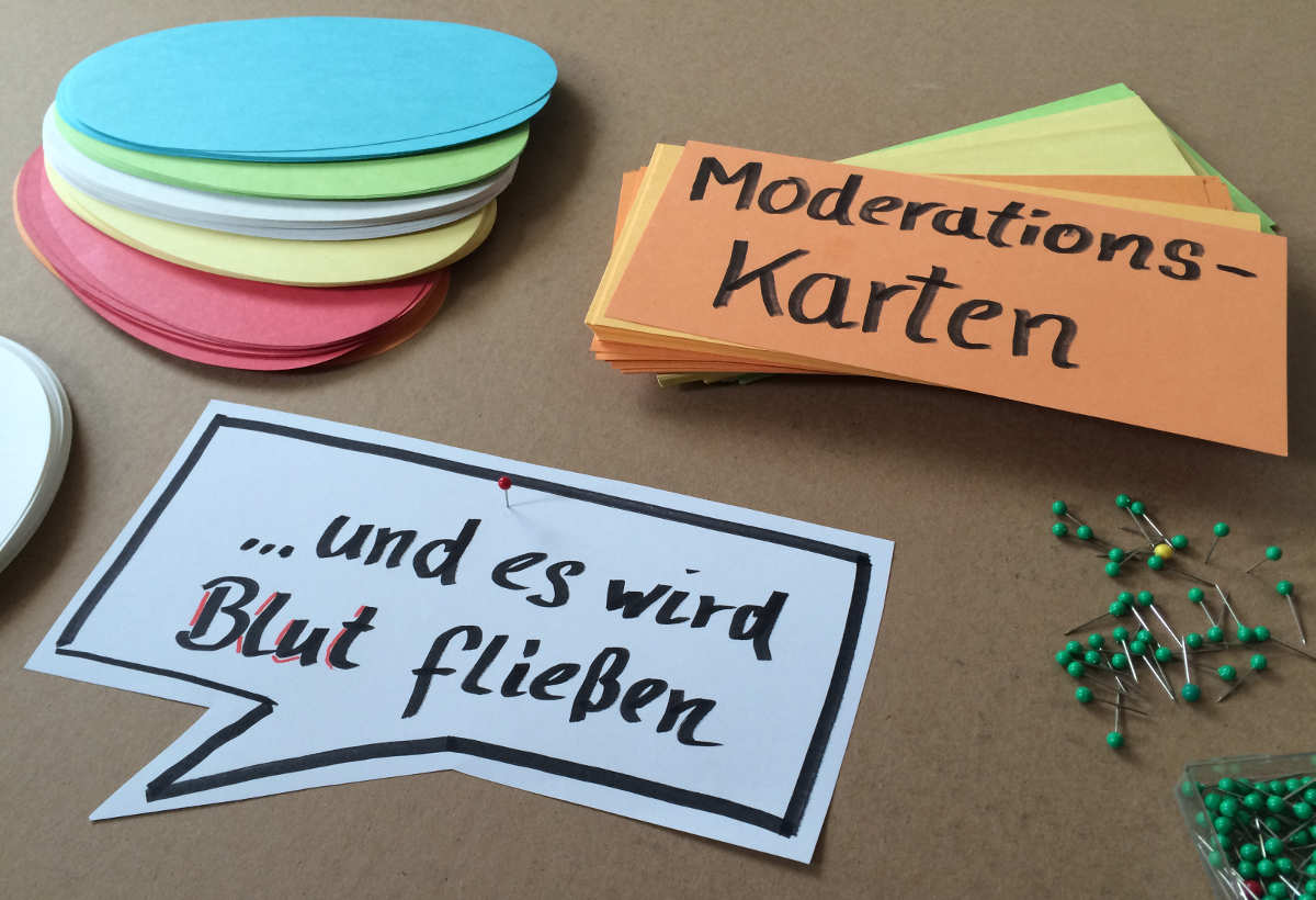 Post-It-Alternative Moderationskarten