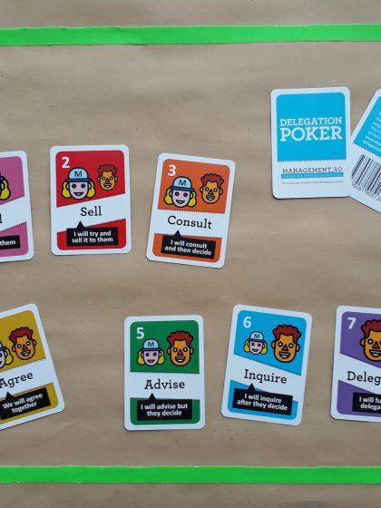 Delegation Poker