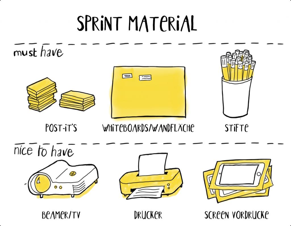 design sprint material