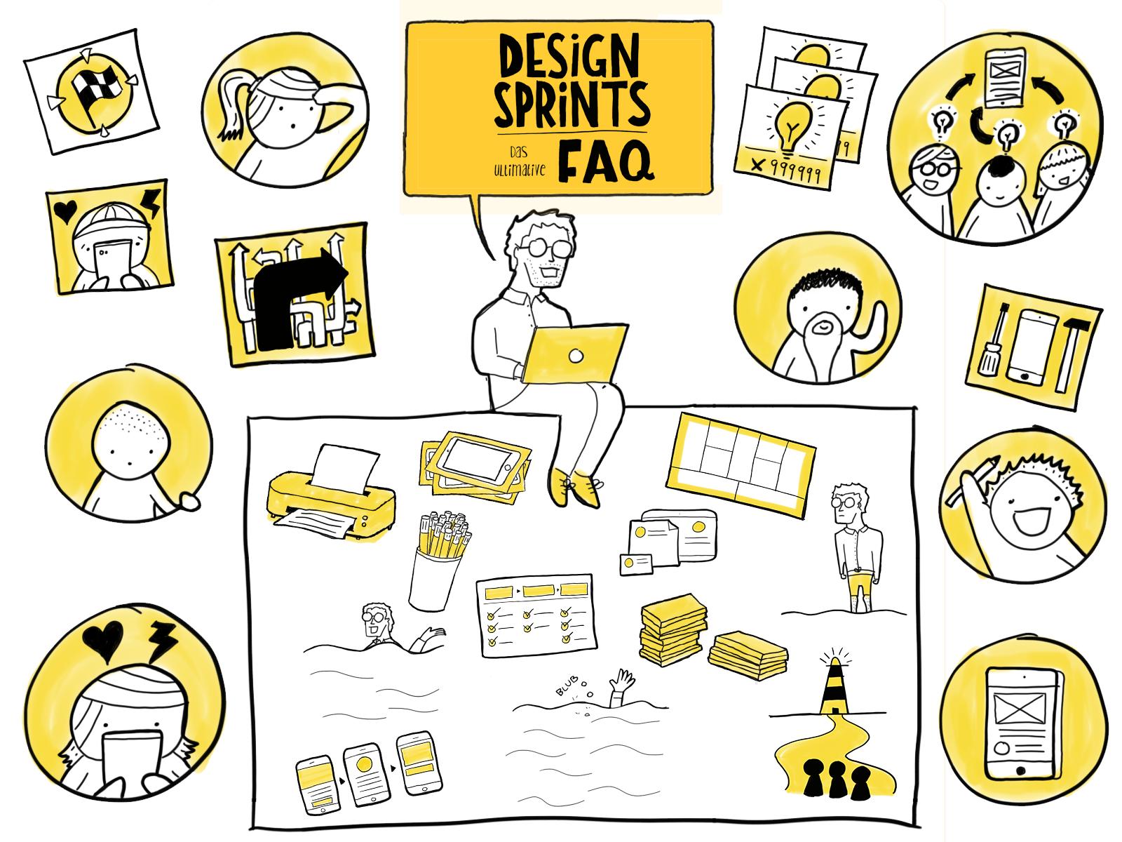 Design Sprint - das ultimative FAQ mit vielen Fragen und Antworten