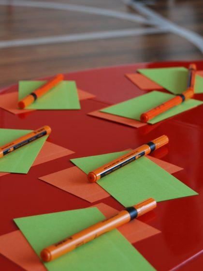 Rot-Grün-Feedback Präsentationen