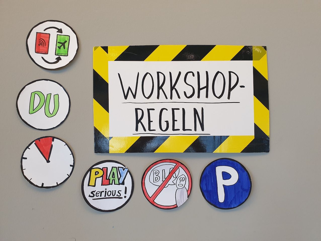 Workshop Regeln