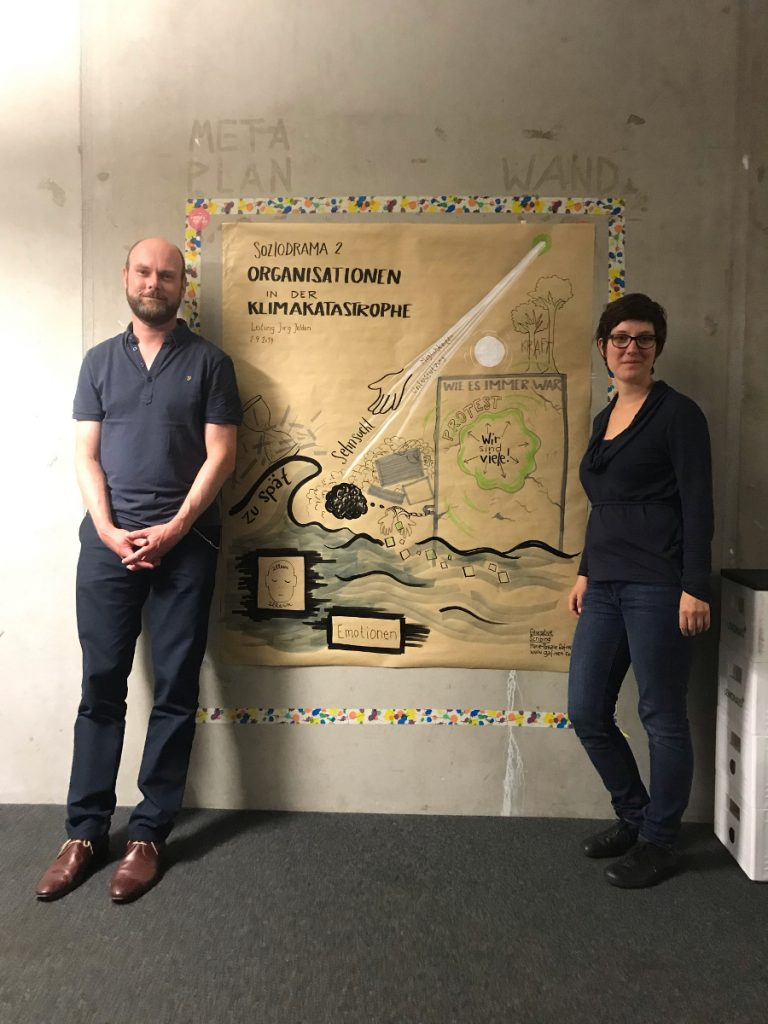 GenerativeScribing Klima-Soziodrama2 Marie-Pascale Gafinen Jörg Jelden