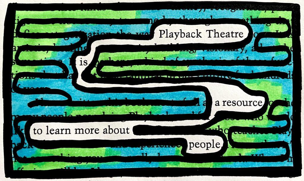 Retrospektiven in Action: Playback Theater